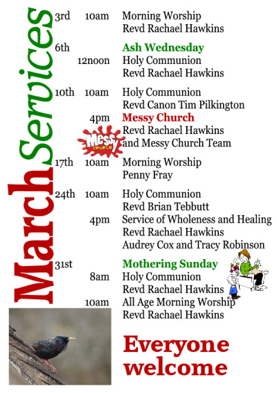All Age Morning Worship for Mothering Sunday